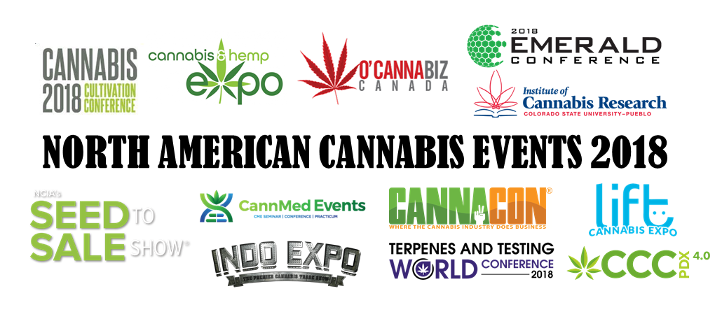 North American Cannabis Events 2018 | Gregor Zorn