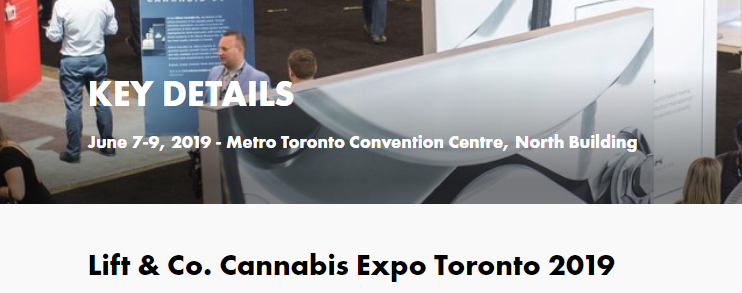 Canadian Cannabis Events 2019 | Gregor Zorn