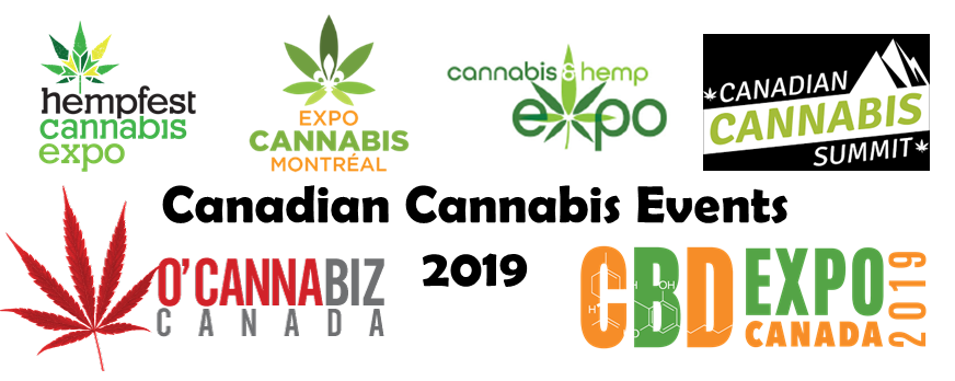 Canadian Cannabis Events 2019